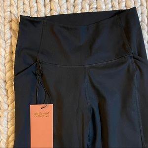 GIRLFRIEND CO | NWT Black High-Rise Pocket Legging